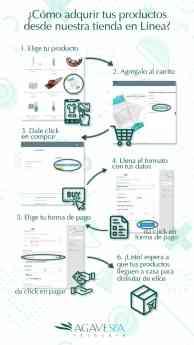 Foto de ¿Cómo adquirir productos AgaveSpa en línea?