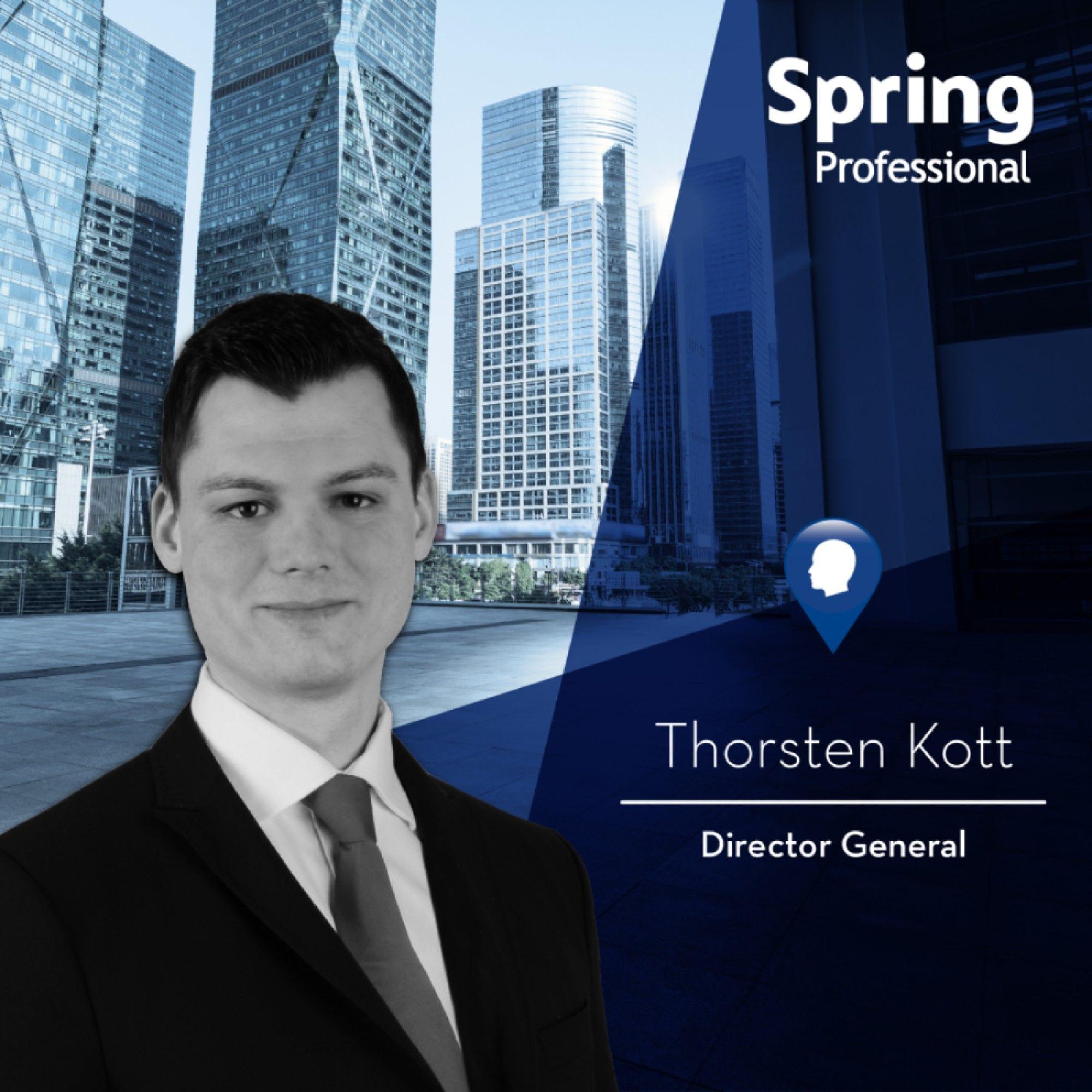 Fotografia Thorsten Kott, Director General. Spring Professional