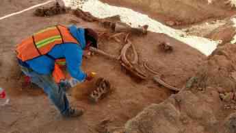 Salvamento arqueológico delAeropuerto Internacional Felipe Ángeles