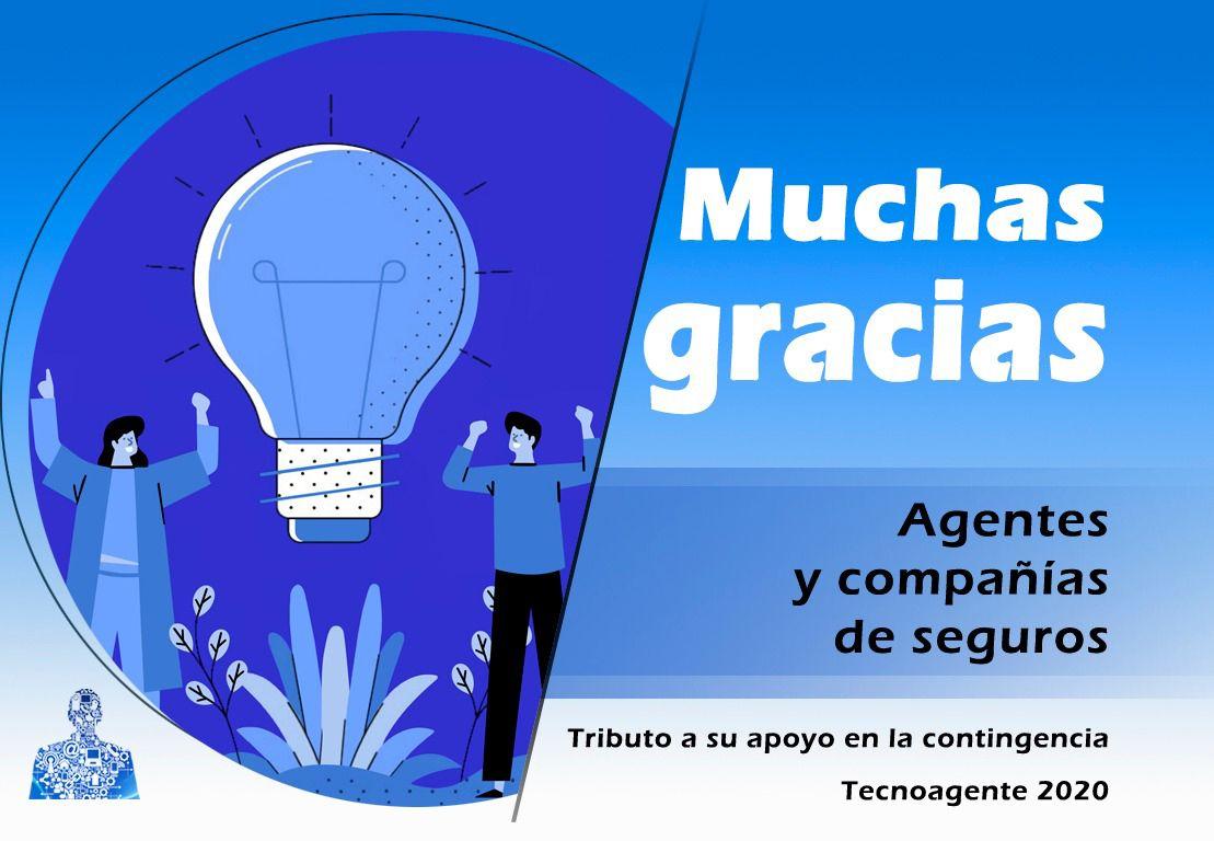 Foto de Tributo a Agentes y Compañías de seguros en Tecnoagente