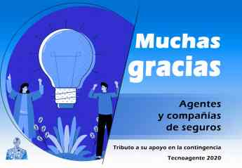 Tributo a Agentes y Compañías de seguros en Tecnoagente