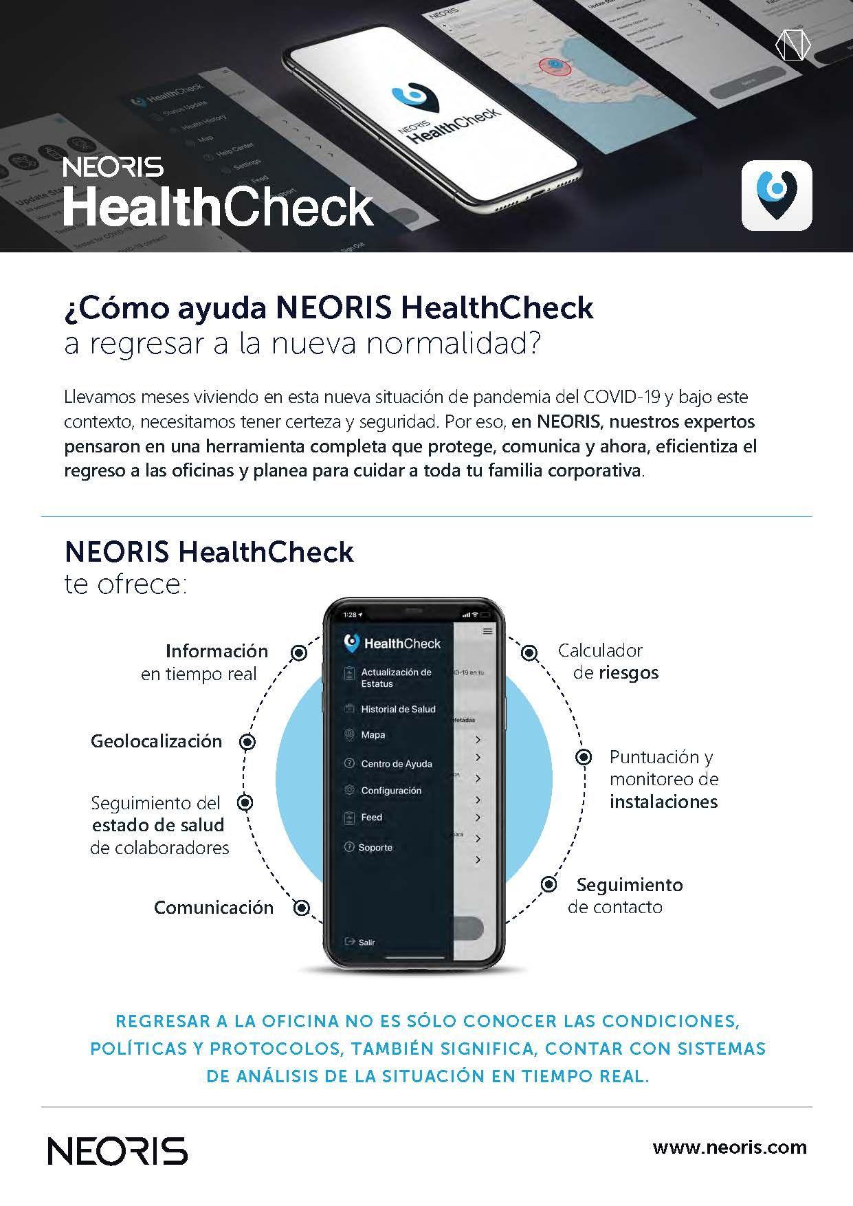 Foto de ¿Cómo ayuda HealthCheck a regresar a la nueva normalidad?