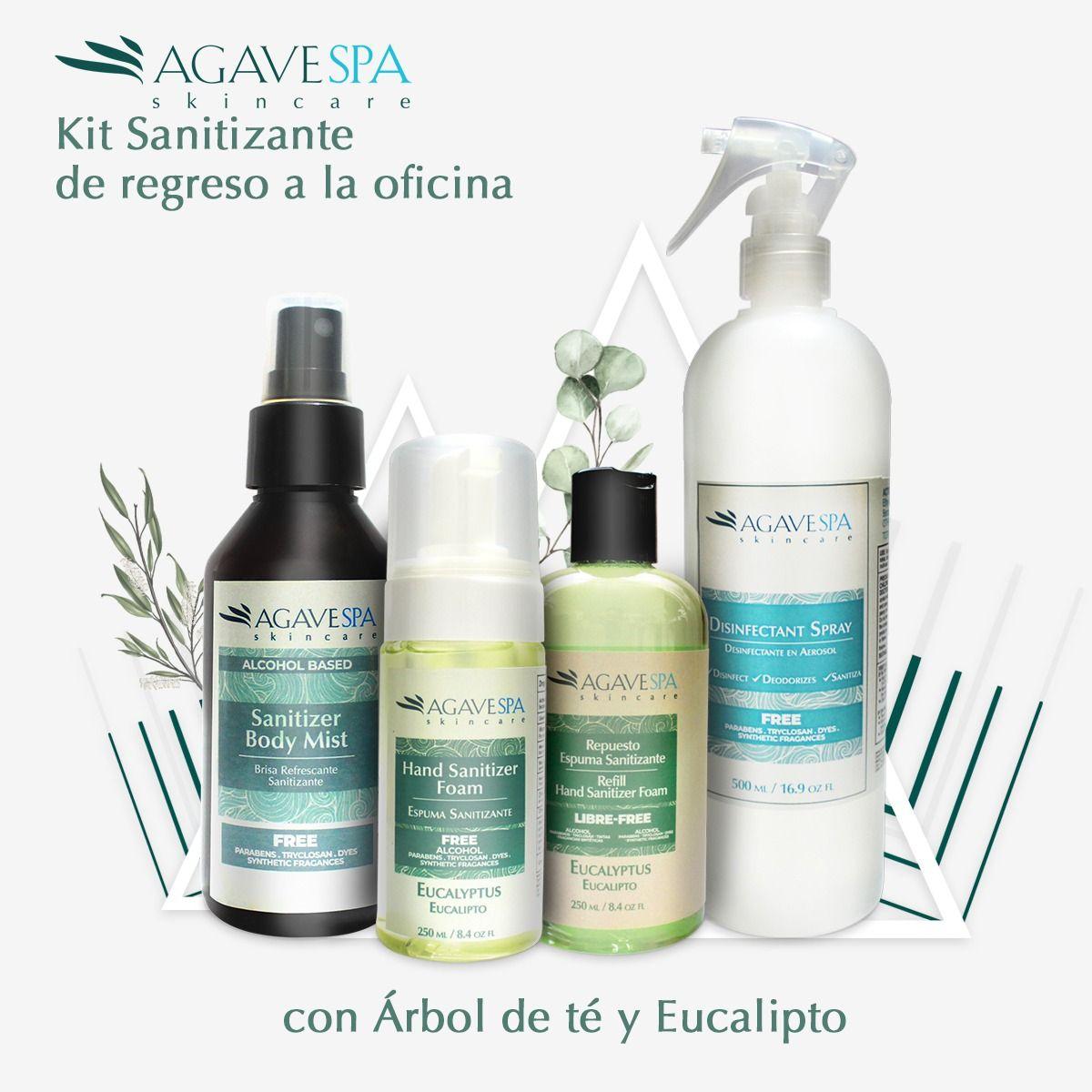 Fotografia Productos Sanitizantes AgaveSpa