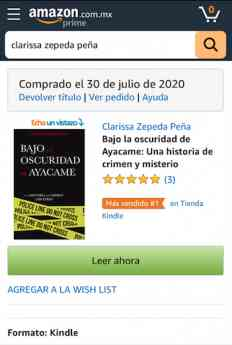Foto de Bestseller en Amazon
