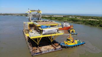 Cotemar concluye instalación de la plataforma Yaxché-C