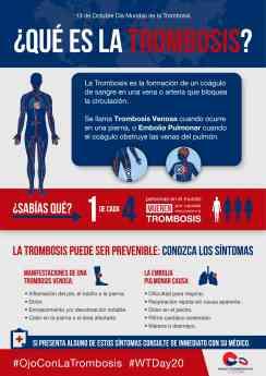 Día Mundial de la Trombosis: la prevención y la detección temprana salvan vidas