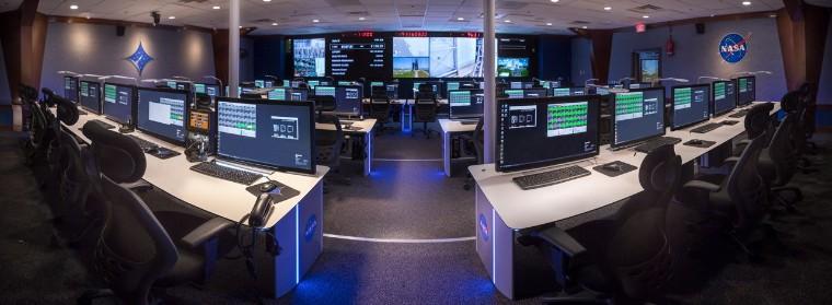 Foto de Centro de control de la NASA