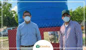 Instalación de Cisternas en Escuinapa, Sinaloa