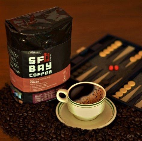 Fotografia Café Especialidad de Etiopía SF Bay Coffee