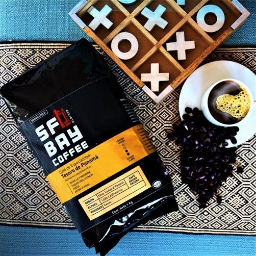 Fotografia Tesoro de Panamá SF Bay Coffee
