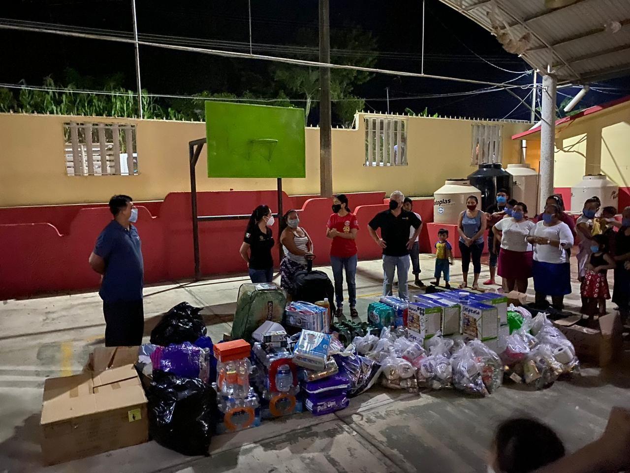 Foto de Cotemar realiza donativo en beneficio de damnificados de
