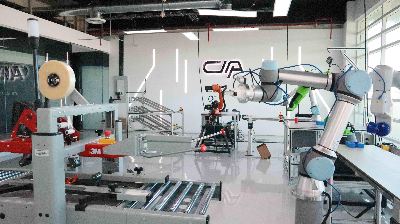 Fotografia Laboratorio de Robótica.