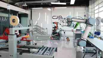 Foto de Laboratorio de Robótica.