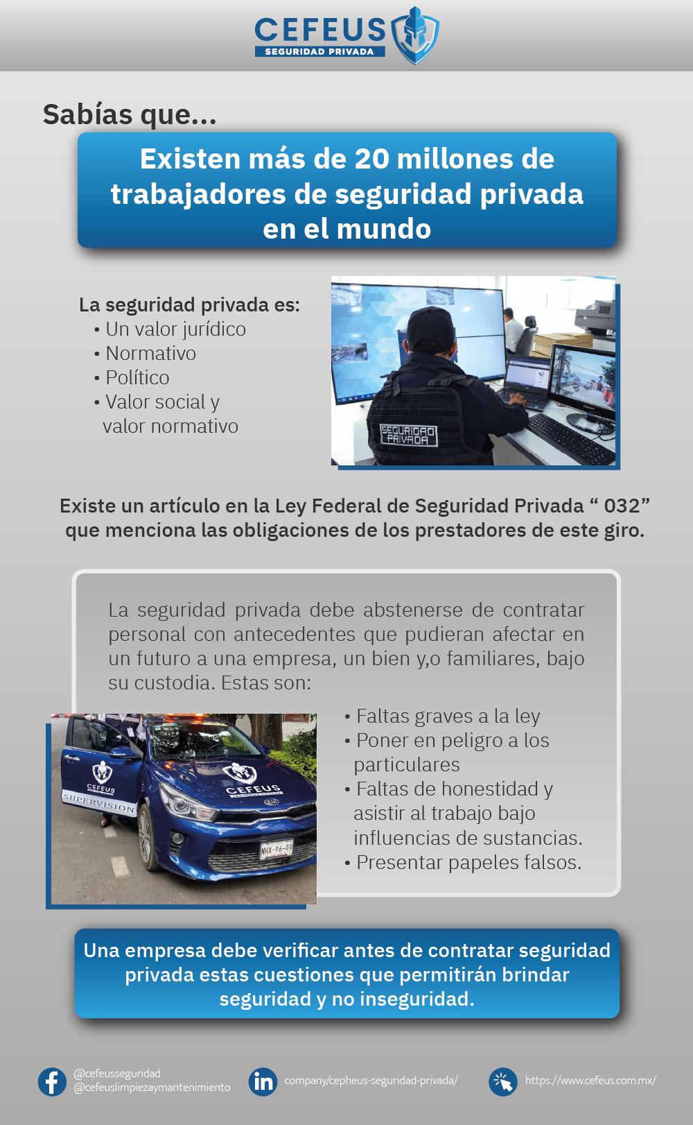 Foto de Características de la seguridad privada para las empresas o