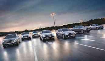 Mercedes-Benz cuenta con un amplio catálogo de automóviles