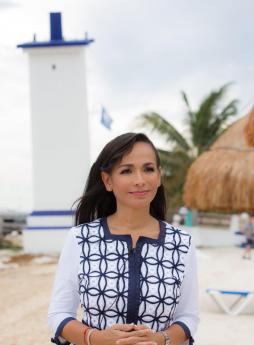 Laura Fernández Piña comprometida con los valores y con la juventud