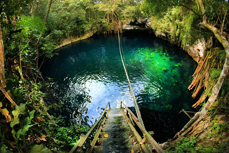 Fotografia Cenote Puerto Morelos