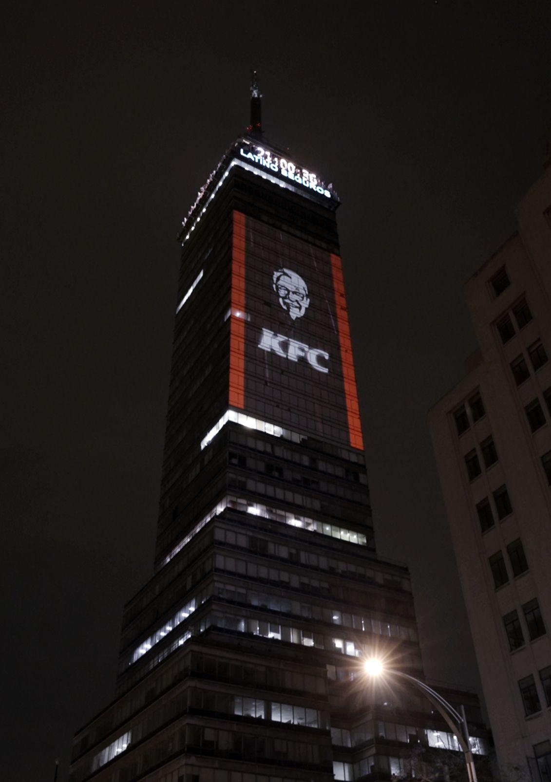 Fotografia KFC en la Torre Latinoamericana