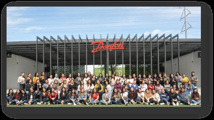 Foto de Logra Danfoss distintivo ESR por 11 años consecutivos