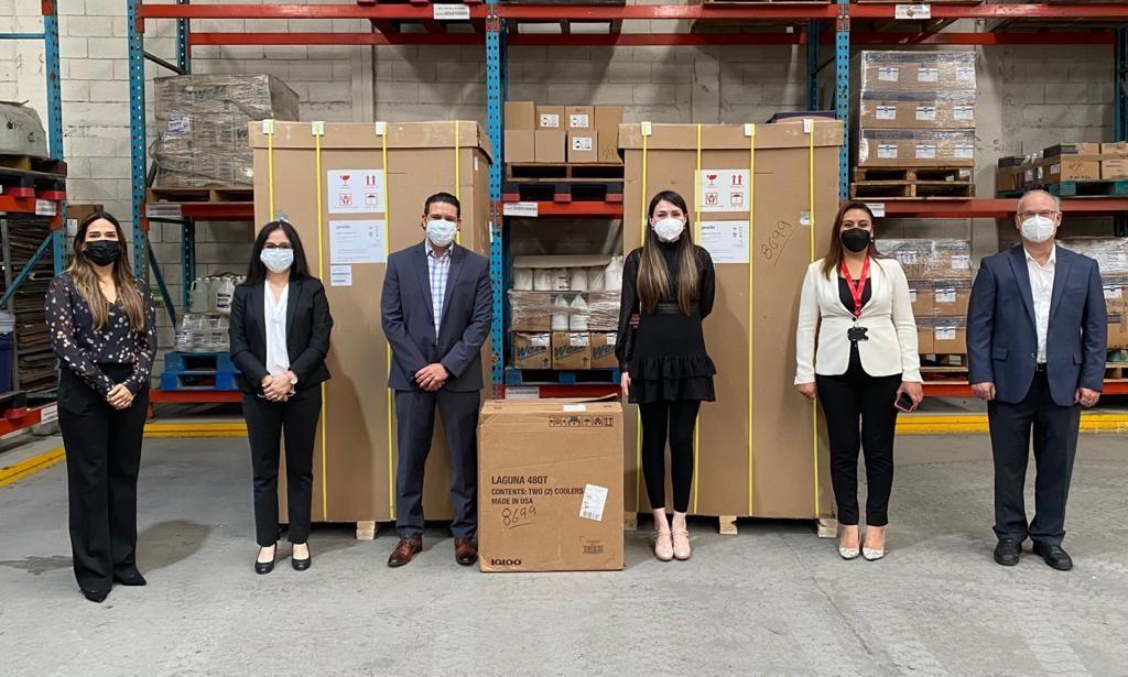 Foto de Danfoss dona ultracongeladores al Estado de Nuevo León