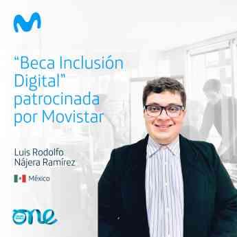 Foto de Beca Inclusión Digital Movistar