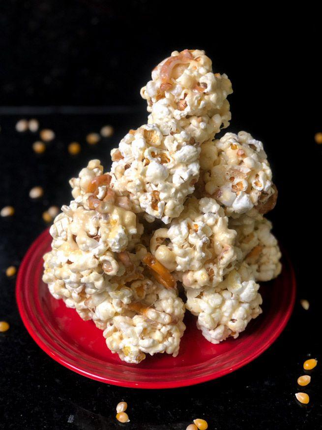 Fotografia Esferas de Palomitas Popcorn USA