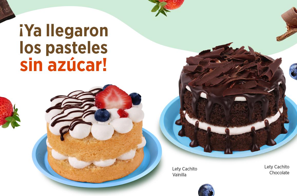 Fotografia Pasteles sin azúcar, una opción para comer saludable