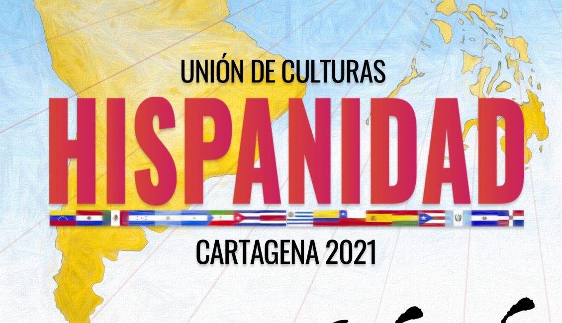 Fotografia Cartel Hispanidad Cartagena