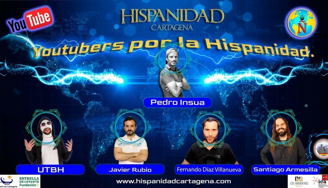 Fotografia Youtubers por la Hispanidad