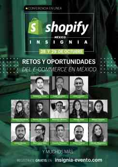INSIGNIA de Shopify México
