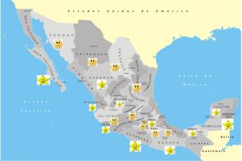 Estados de México felices
