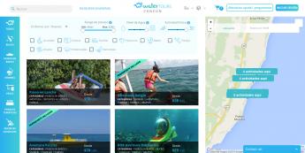 Cancún Water Tours: Página Inicio