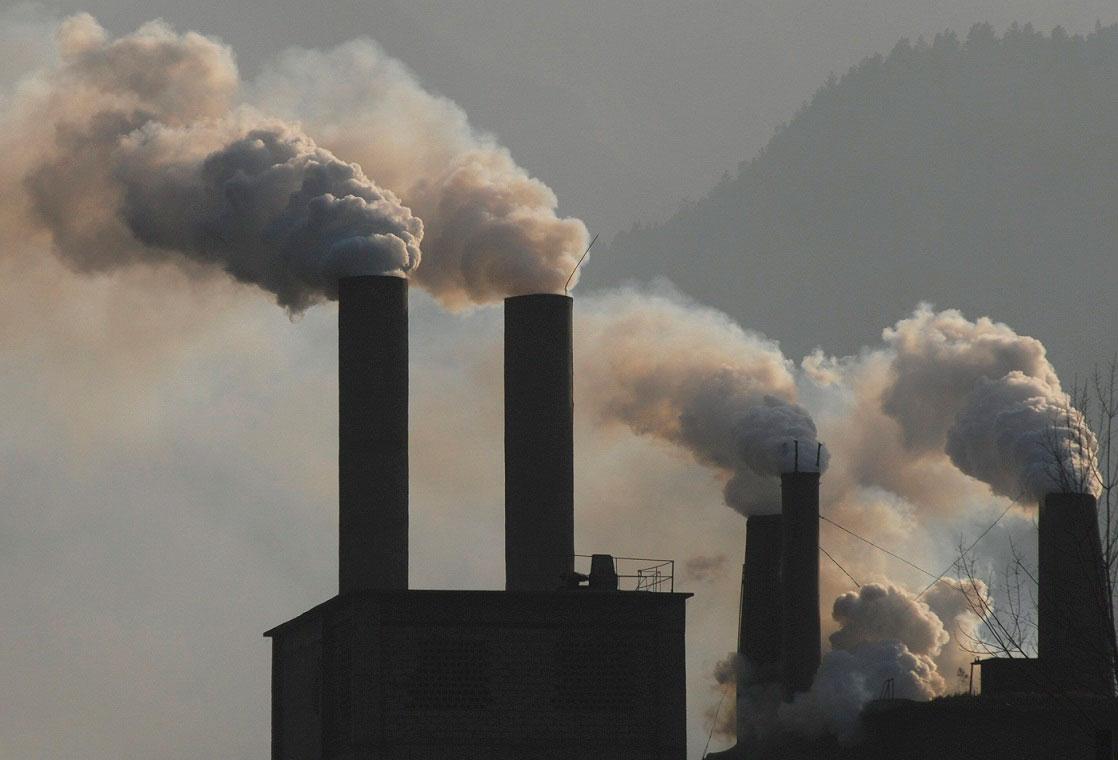 Fábricas contaminan el 60% en México - Notas de prensa