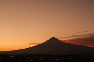 Foto de El Popocatépetl visto desde el Hotel Sonata