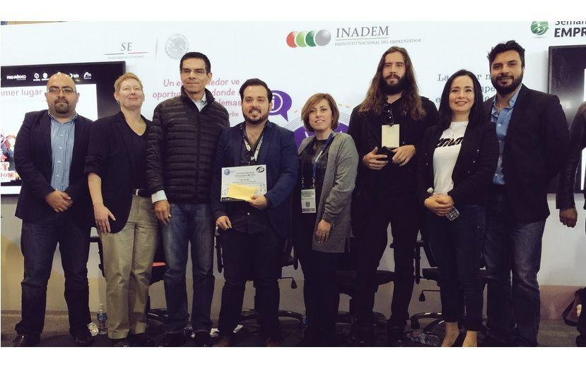 Foto de Ceremonia de premiación Concurso Nacional Videojuegos MX